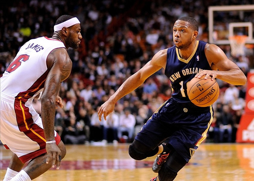 New Orleans Pelicans Eric Gordon S Late Shot Pushes