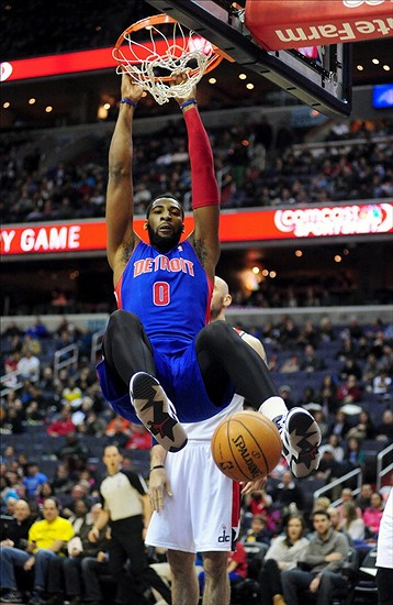 Pistons hand Clippers their first loss | MLive.com  |Andre Drummond Pistons Dunk