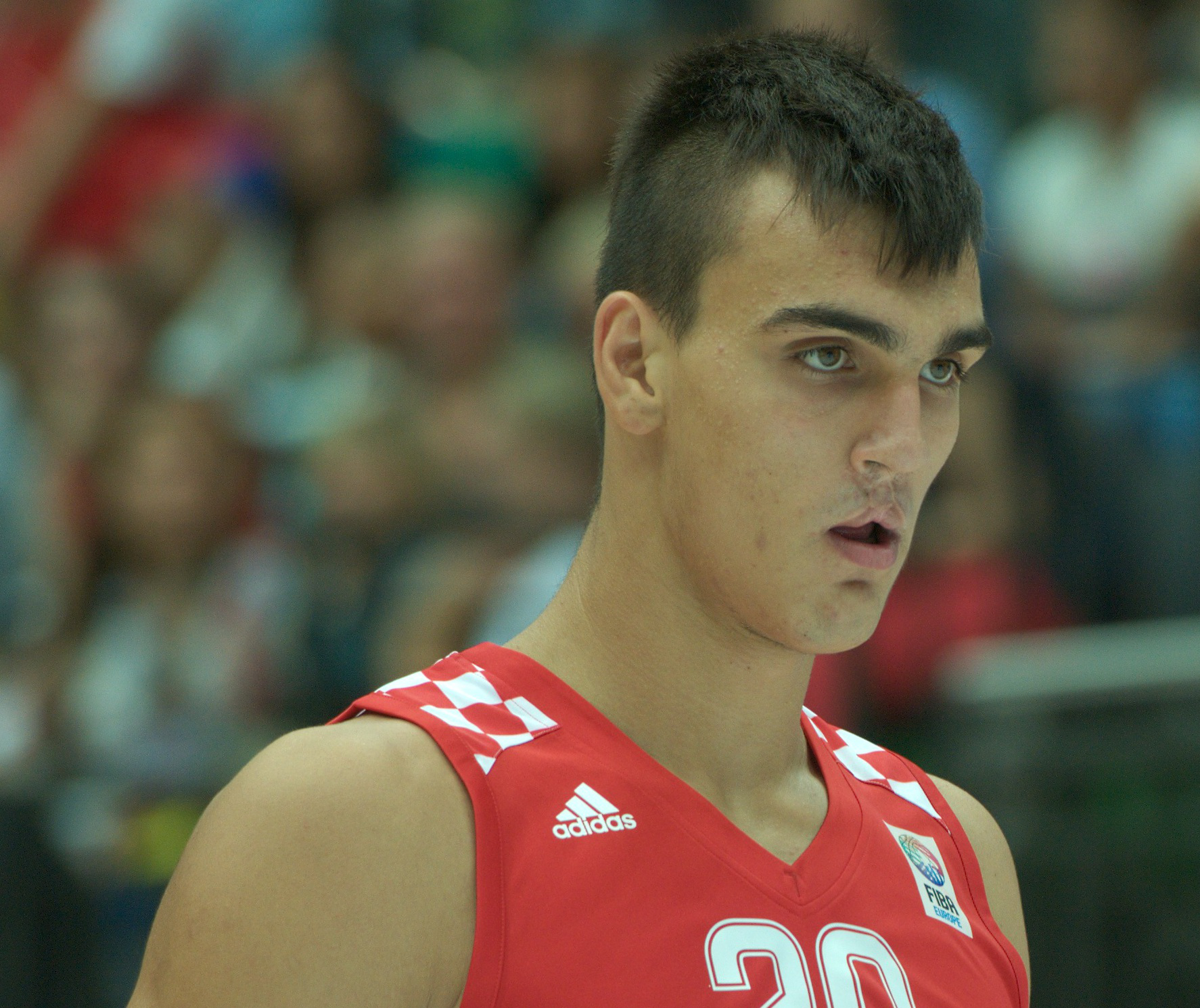 dad8298ca22f Croation prospect Dario Saric is almost certain to go in the first round.  (Photo