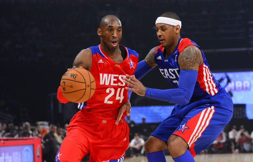 huge selection of 243ec 15e12 Los Angeles Lakers  What To Pitch To Carmelo Anthony