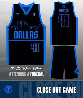 0dbb44b04cde Dallas Mavericks unveil new skyline uniforms
