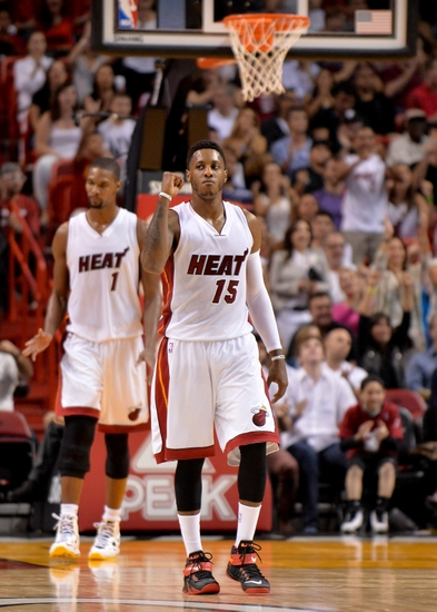 Miami Heat  Mario Chalmers Making Most of Opportunity 894589230