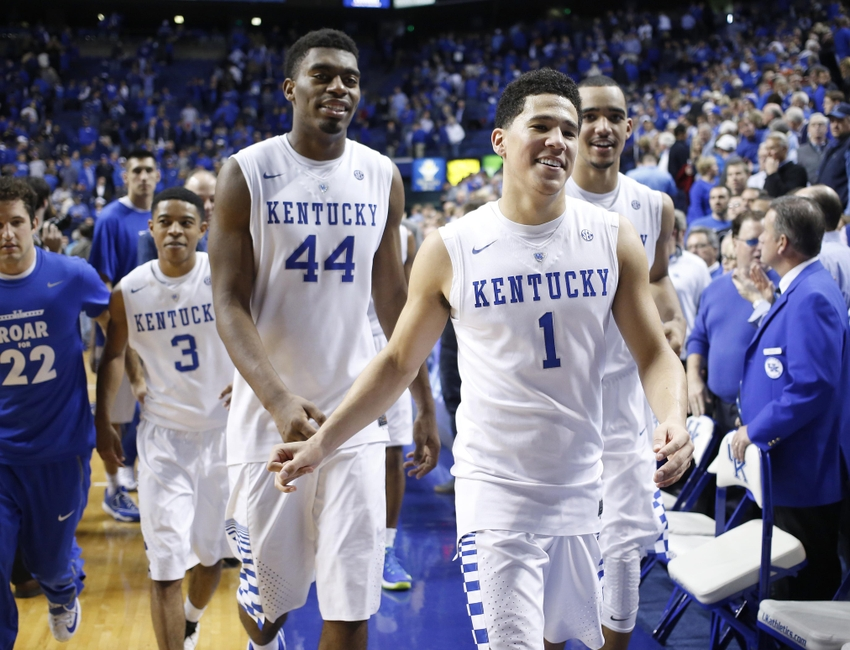 College Basketball Rankings Kentucky Then Who