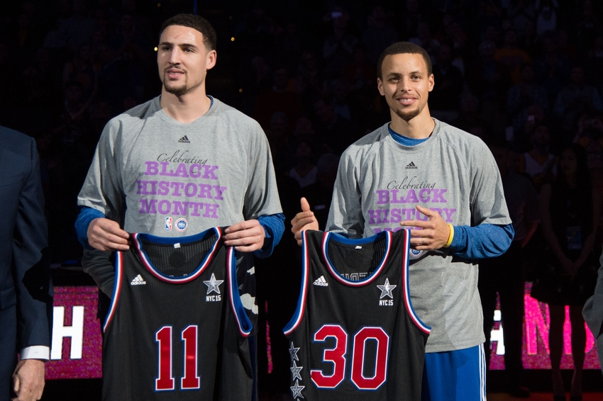 buy popular a11fd 7e311 Golden State Warriors All-Stars: Ranking The Splash Brothers