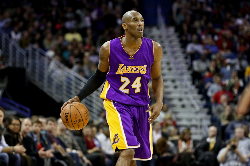 Los angeles lakers 3 challenges at sf for kobe bryant jan 21 2015 new orleans la usa los angeles lakers guard voltagebd Images