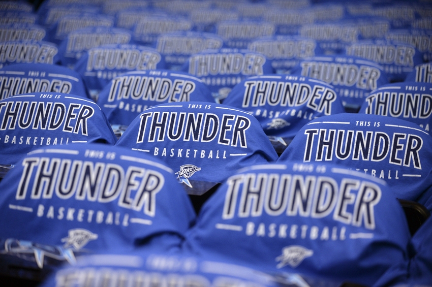 premium selection c0ff6 8e516 Oklahoma City Thunder: 25 Best To Play For The Thunder