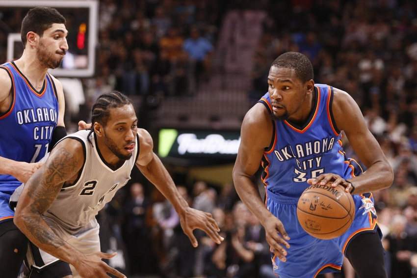 brand new 354a9 12033 Kevin Durant To San Antonio Spurs  Say No Go