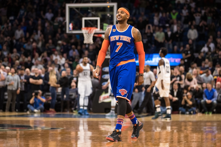 Carmelo Anthony It S Approaching Now Or Never Time For