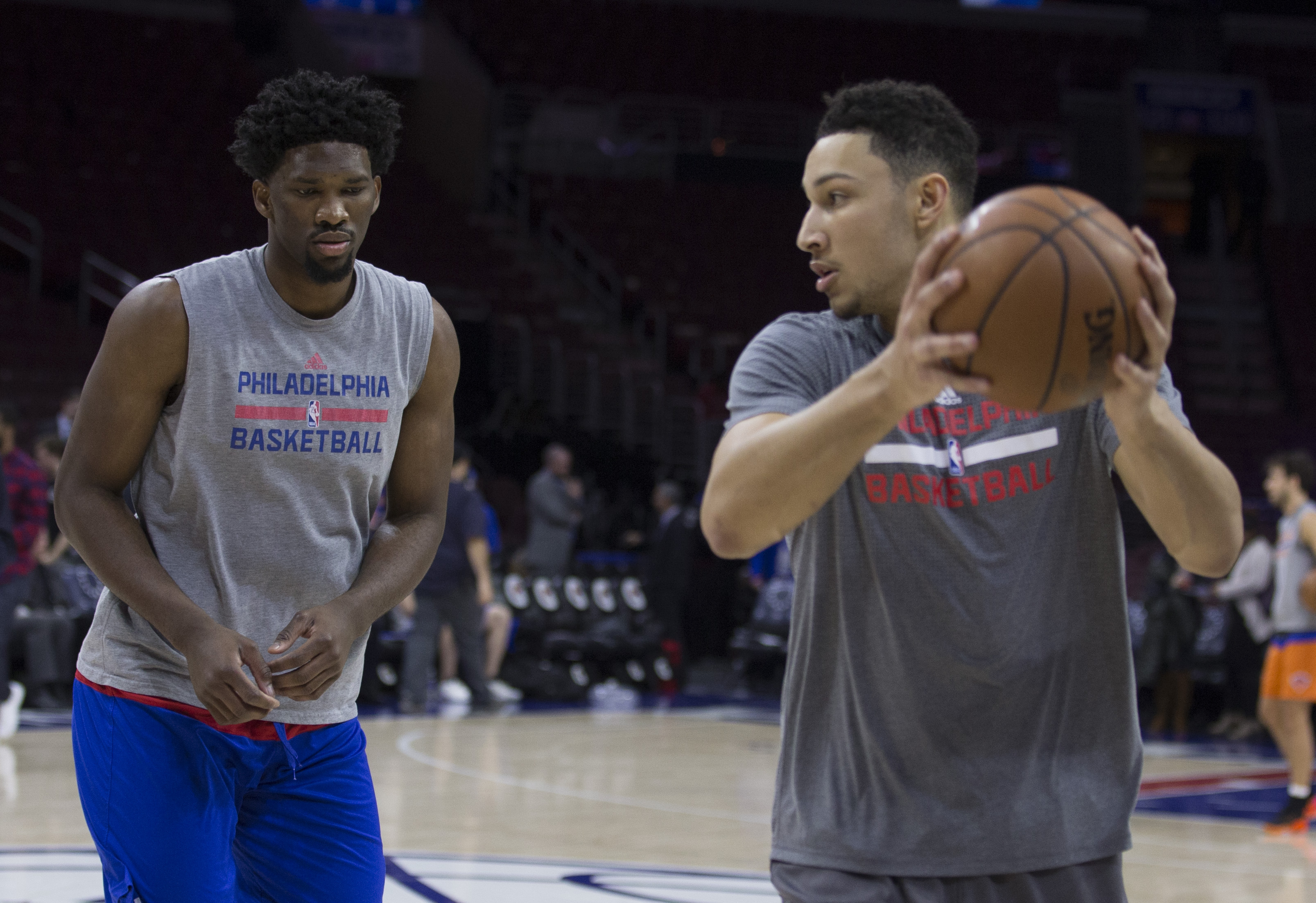 76ers center Joel Embiid expects to be ready for training camp