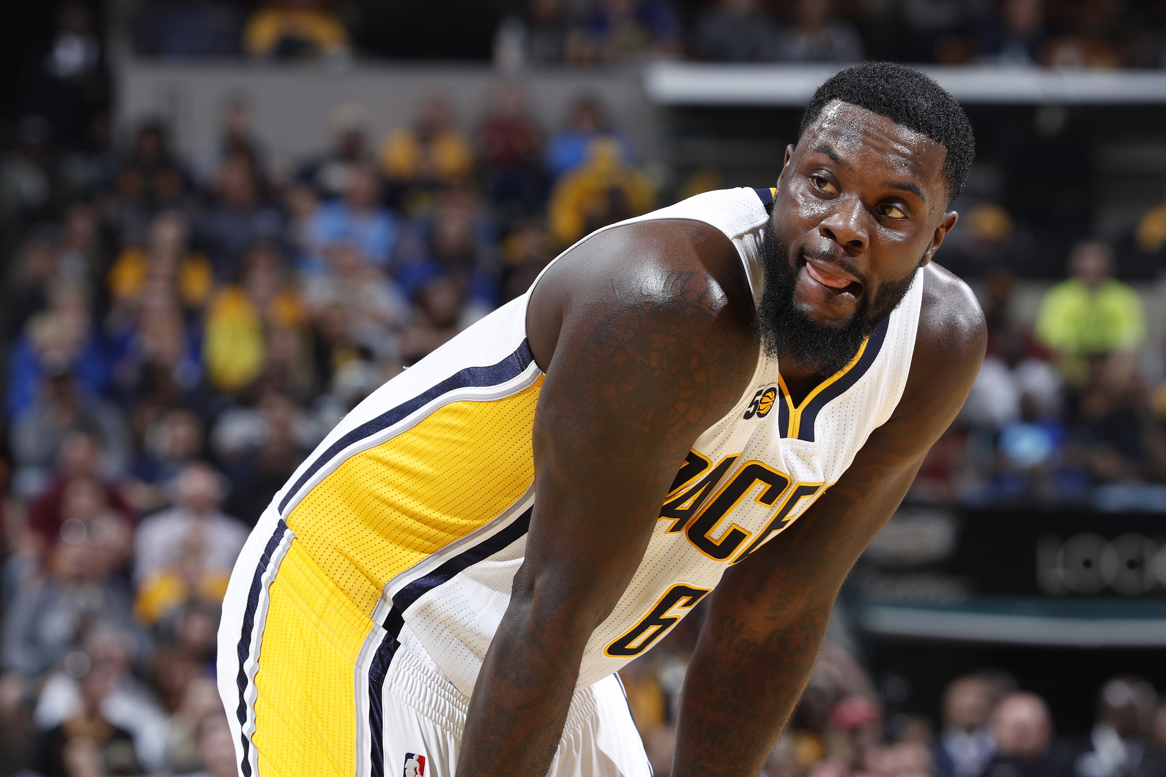 Lance Stephenson Pacers 2014