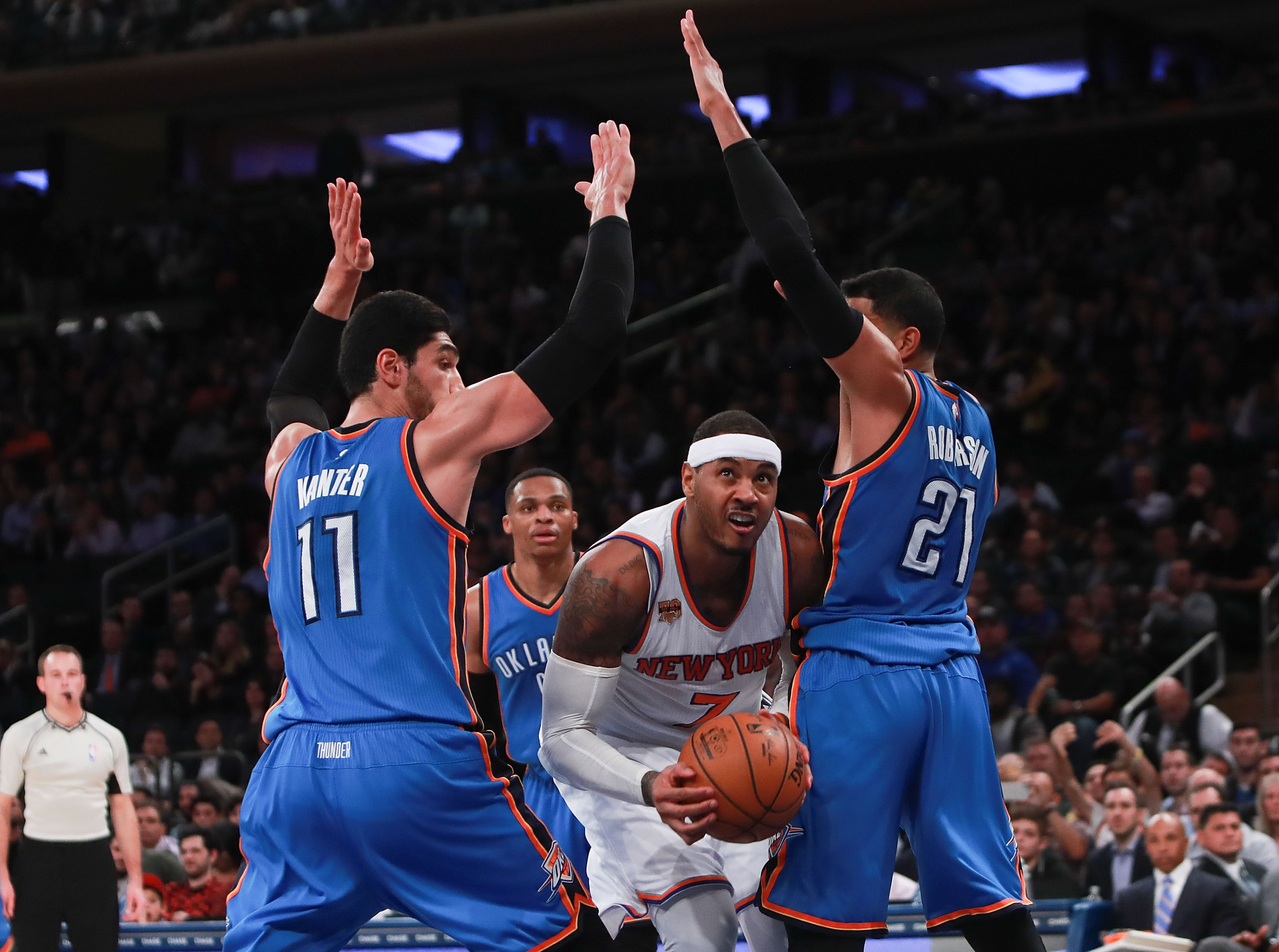 Carmelo Anthony Traded to the Thunder