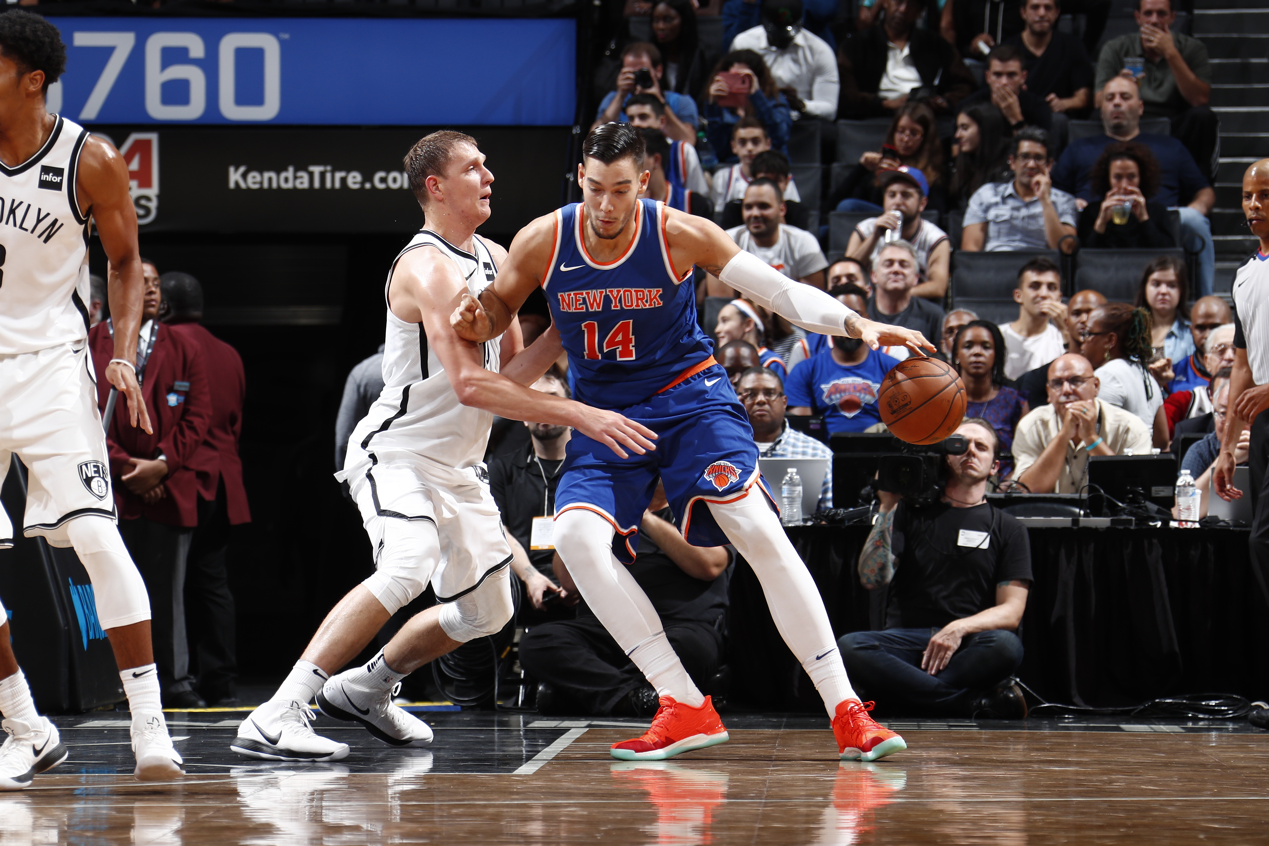 Knicks, Hornets Finalizing Trade Involving Willy Hernangomez