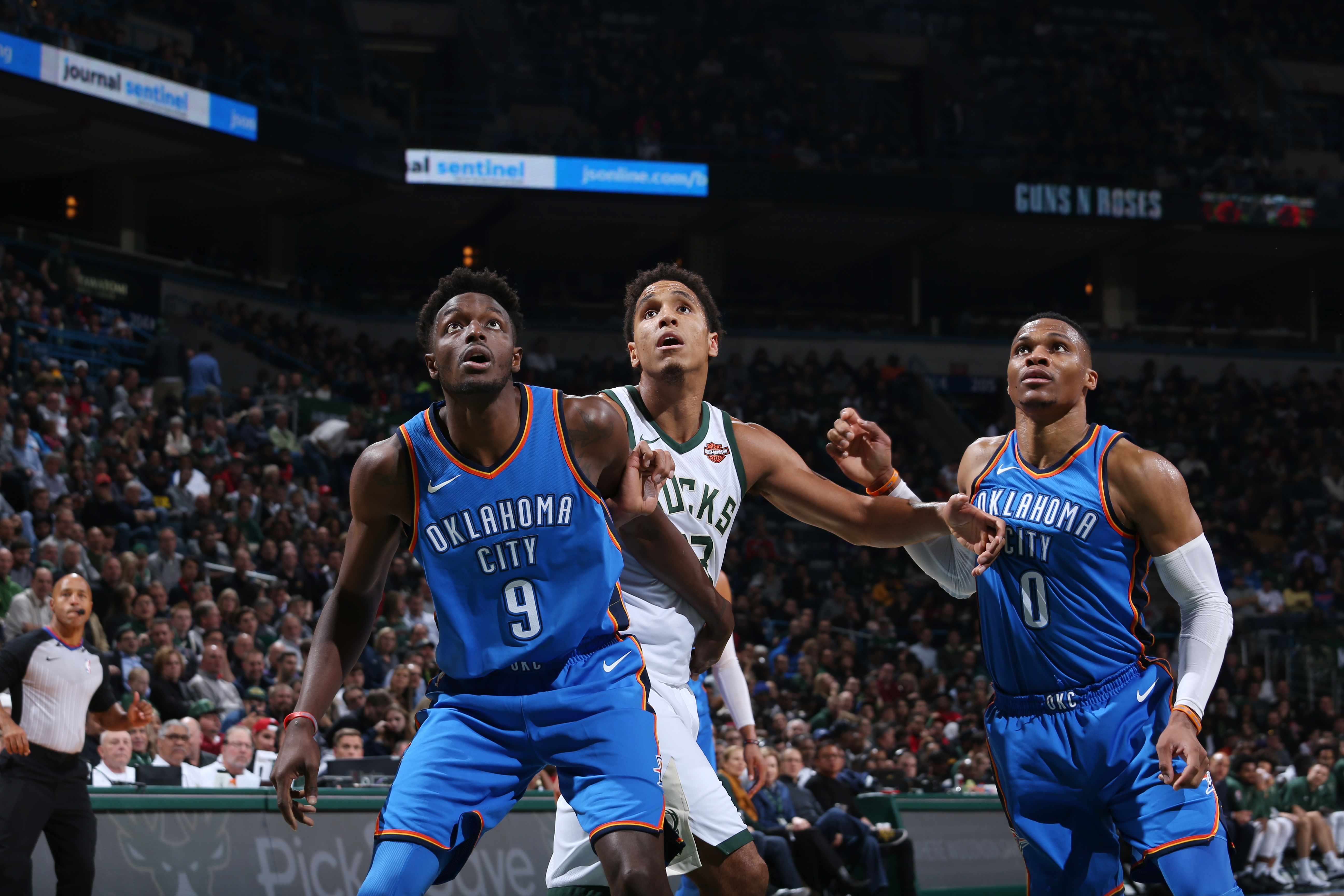 Okc Thunder Jerami Grants Improved Play Is Boosting Bench