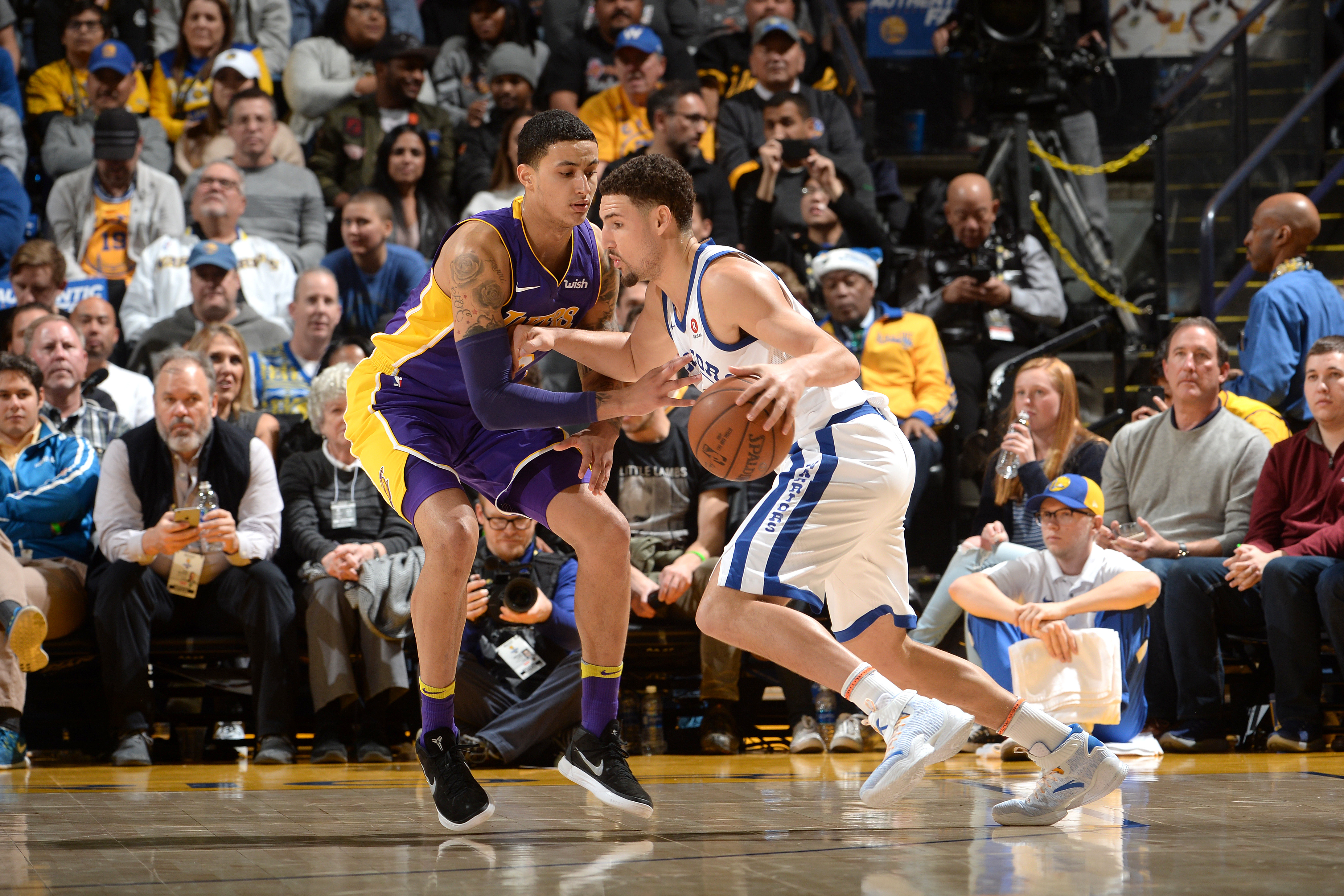 Have lakers revealed new blueprint to defending golden state warriors malvernweather Images