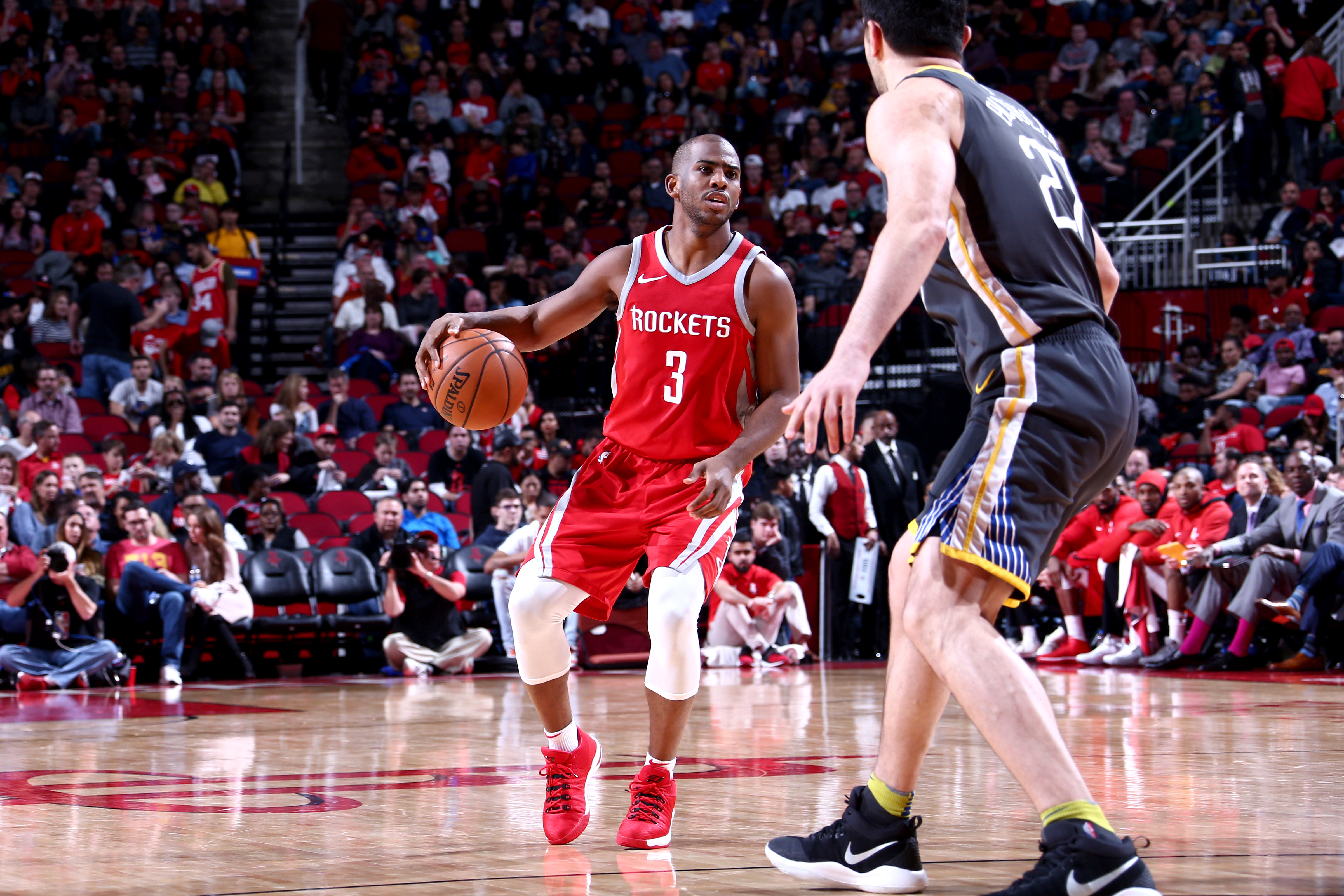 Rockets' Clint Capela on Warriors rivalry: 'We are better than them'