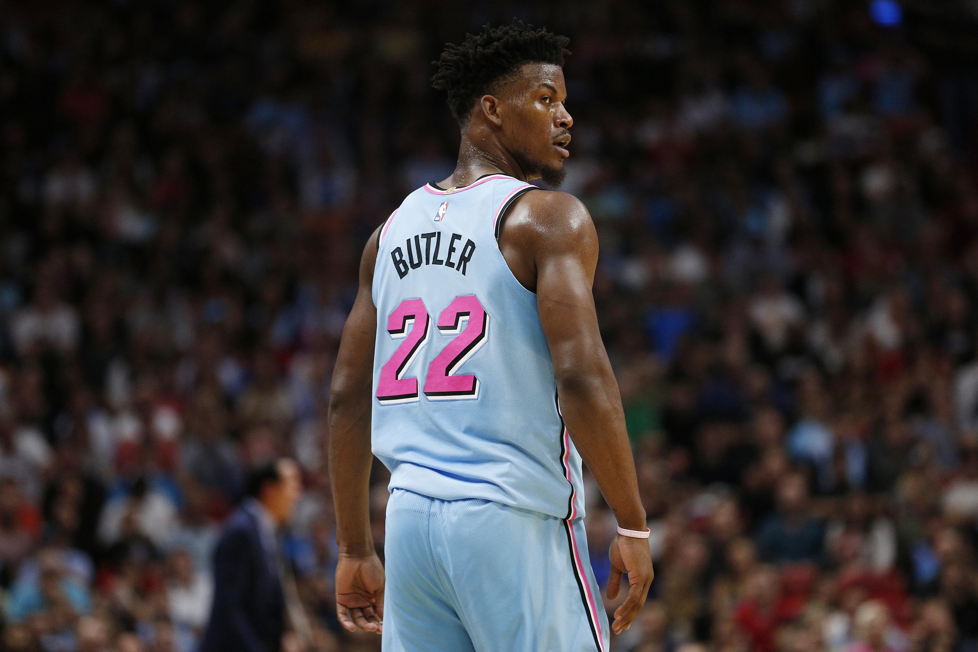 Miami Heat The Jimmy Butler Vs Nba Jersey Saga Should Be A Bigger Deal