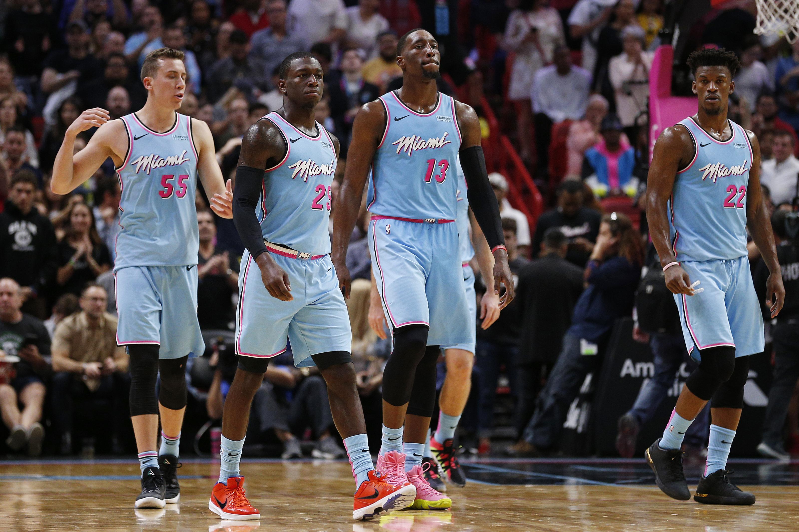 Miami Heat The Devastating Bam Adebayo Duncan Robinson Pairing