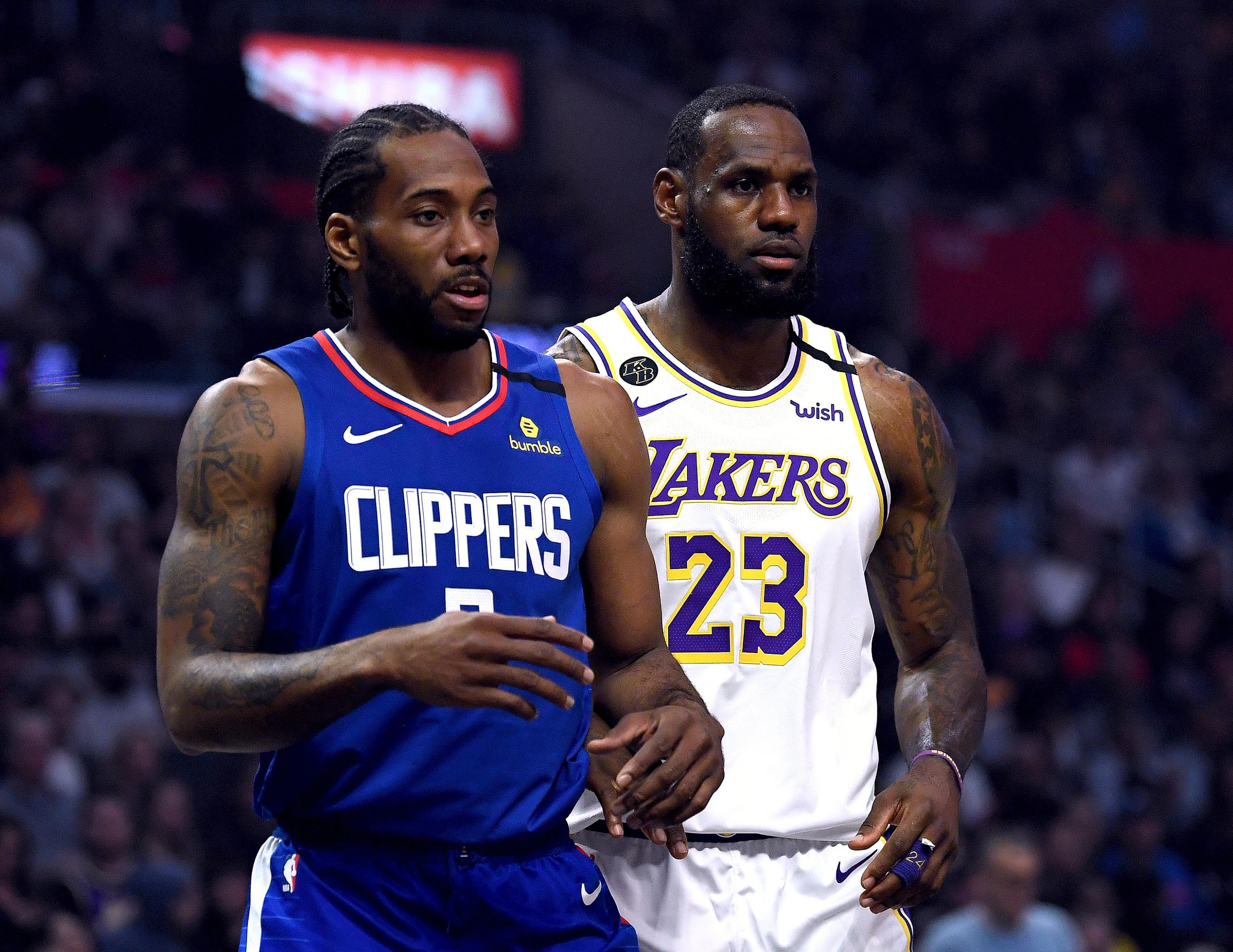 La Clippers Is The Kawhi Leonard Lebron James Rivalry The Nba S Best