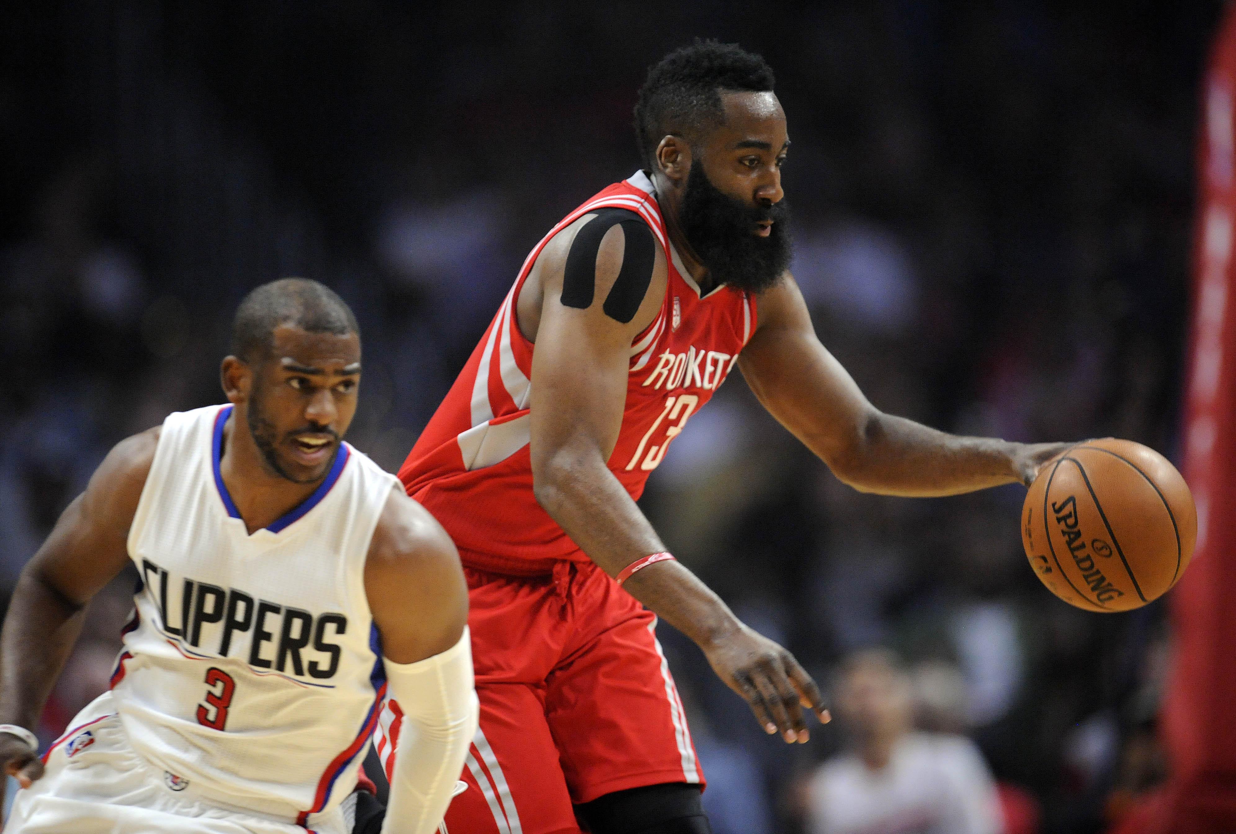 d2f5d3633d7 Houston Rockets  5 reasons Chris Paul and James Harden won t work