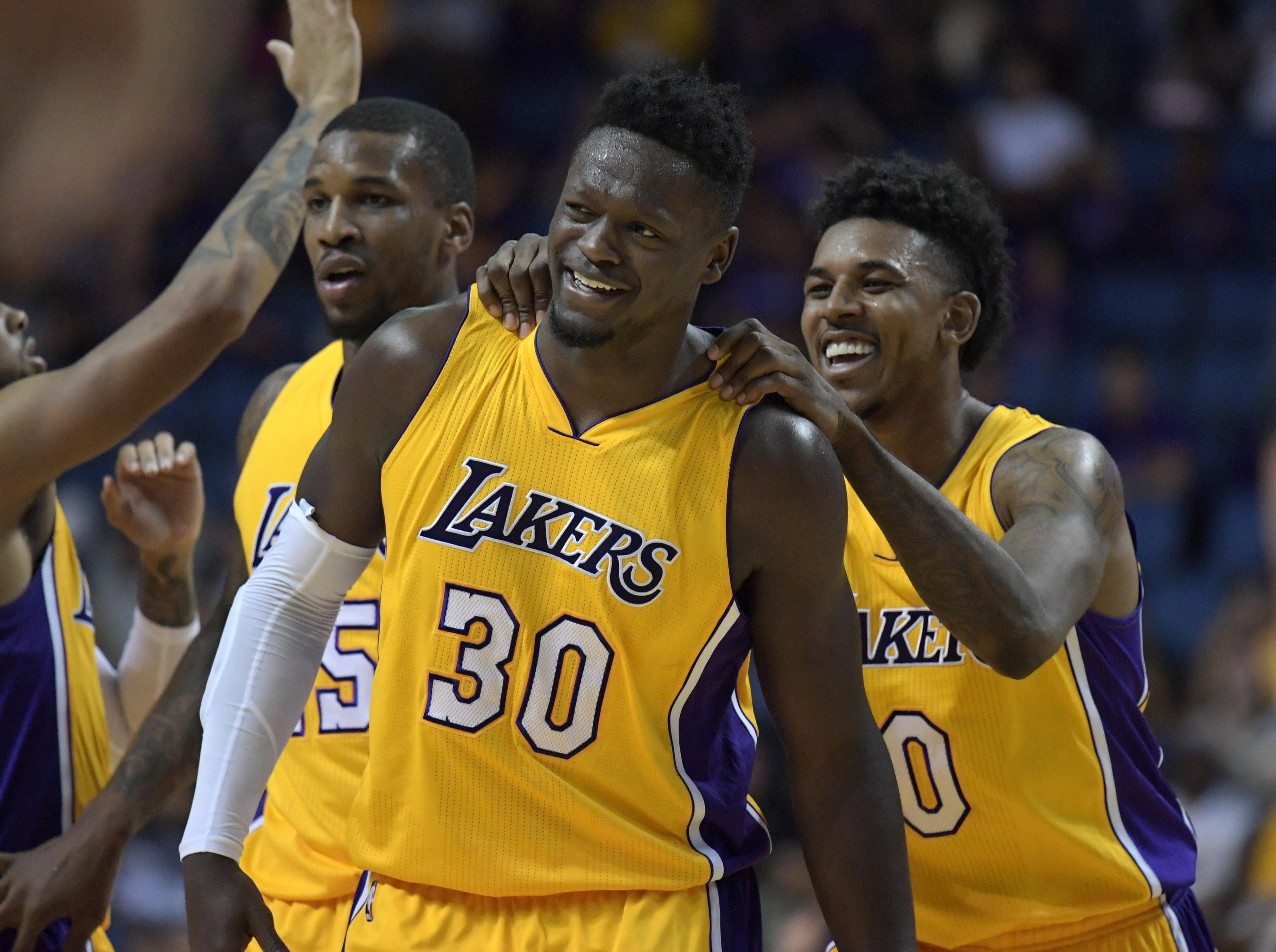 Los Angeles Lakers 2016 17 Regular Season Team Awards