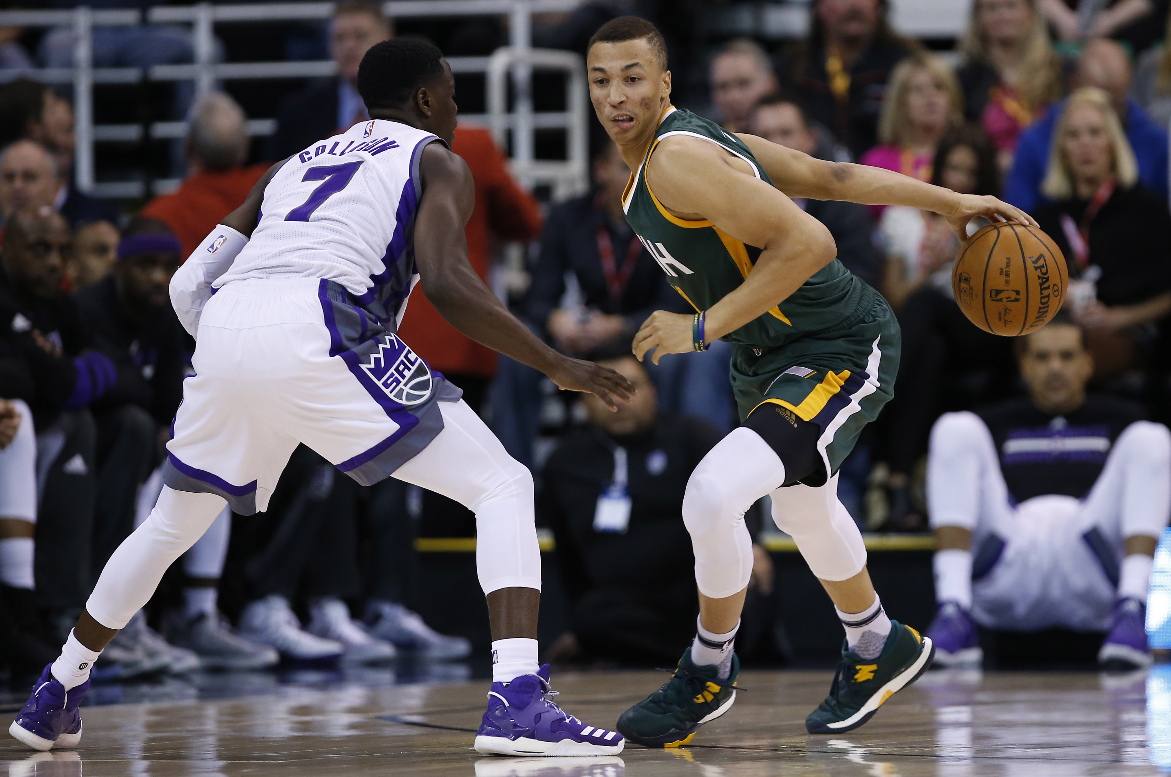 Utah Jazz Reviewing Dante Exum S 2016 17 Season Page 3