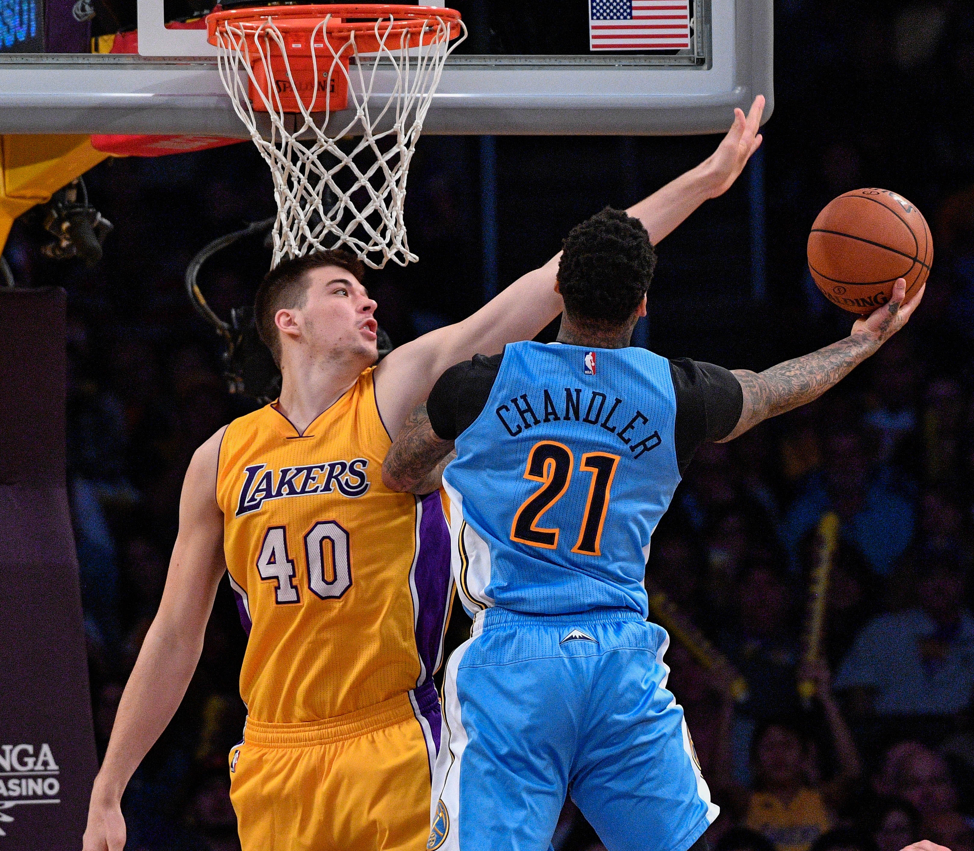 Nuggets Clippers Highlights: Los Angeles Lakers 2016-17 Regular Season Team Awards