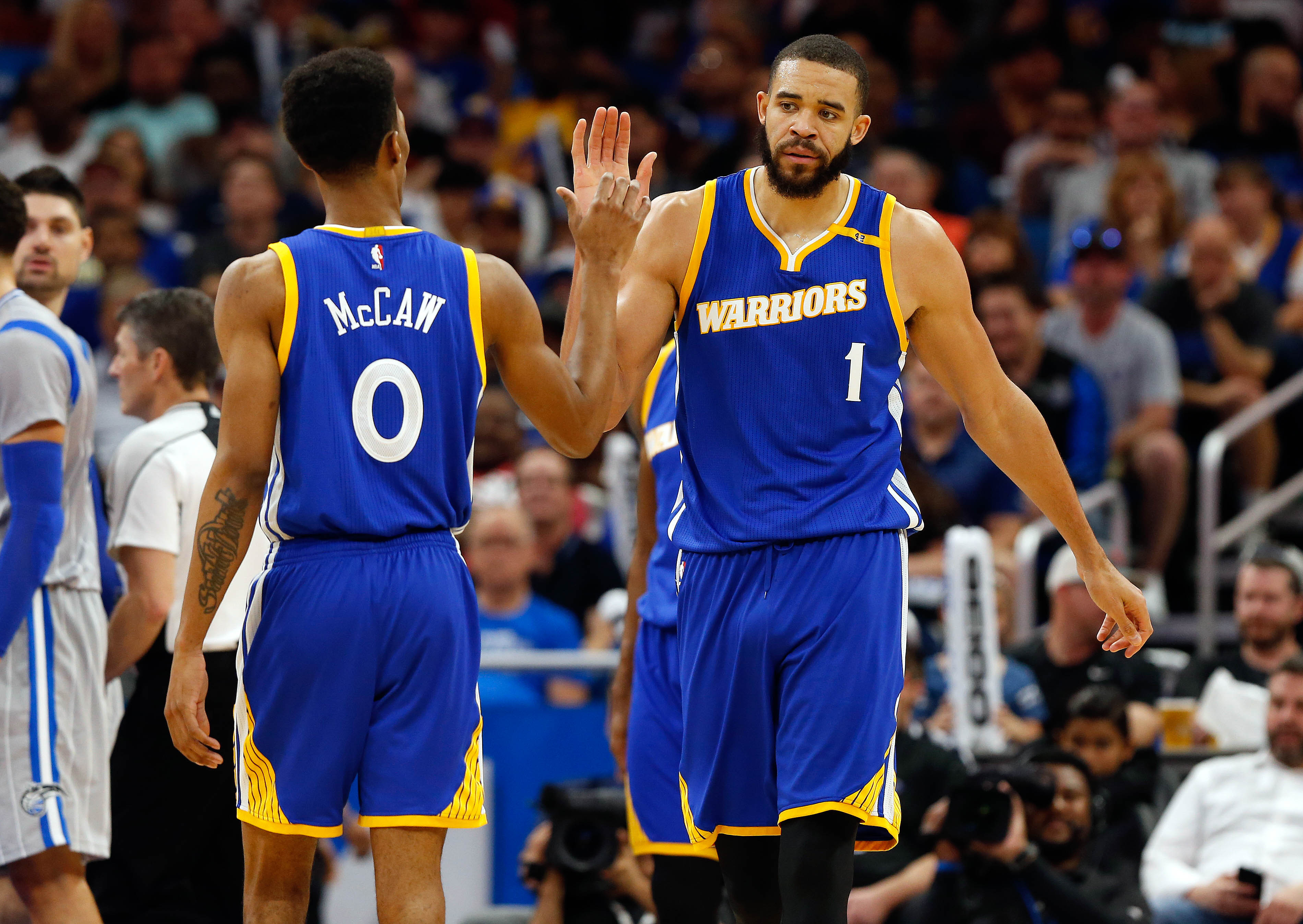 more photos 19bba 44ce2 Golden State Warriors: Evaluating The Baby Warriors ...