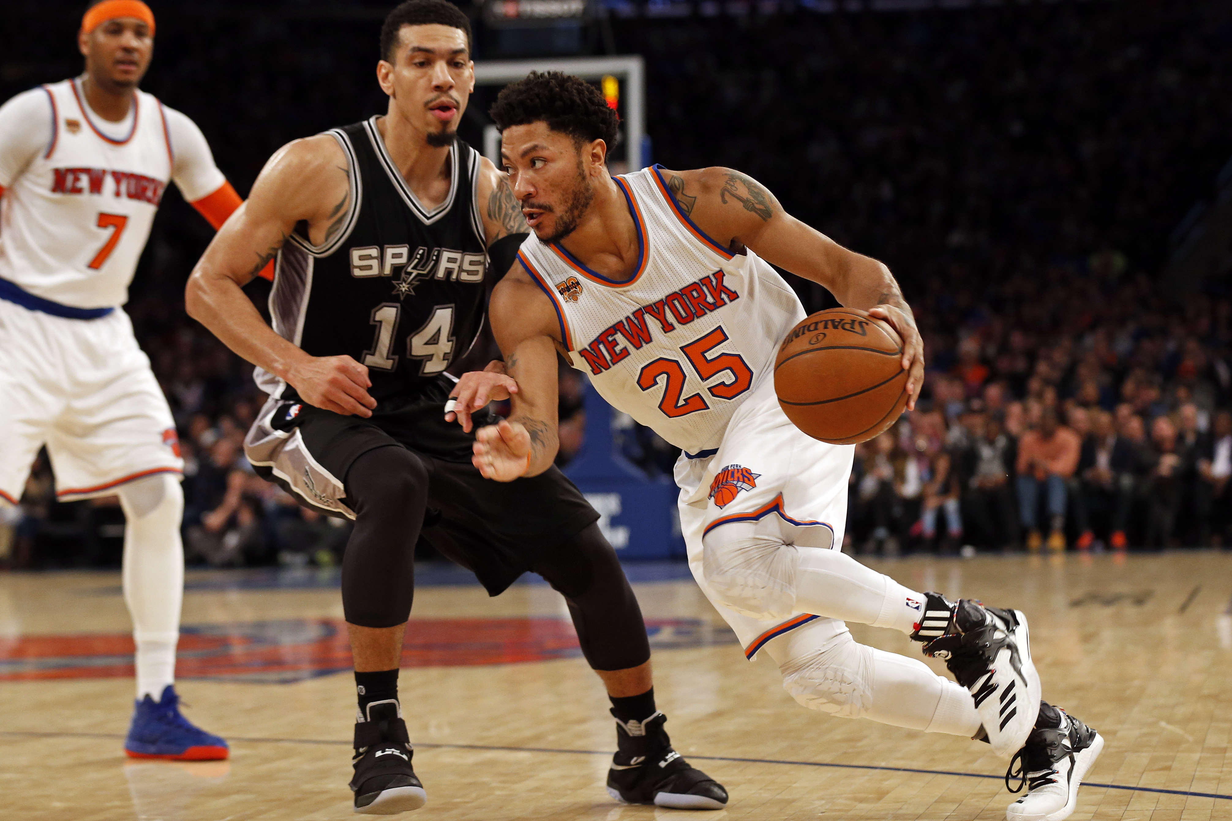 aac6942ce5e3 San Antonio Spurs  Pros and cons of signing Derrick Rose - Page 2