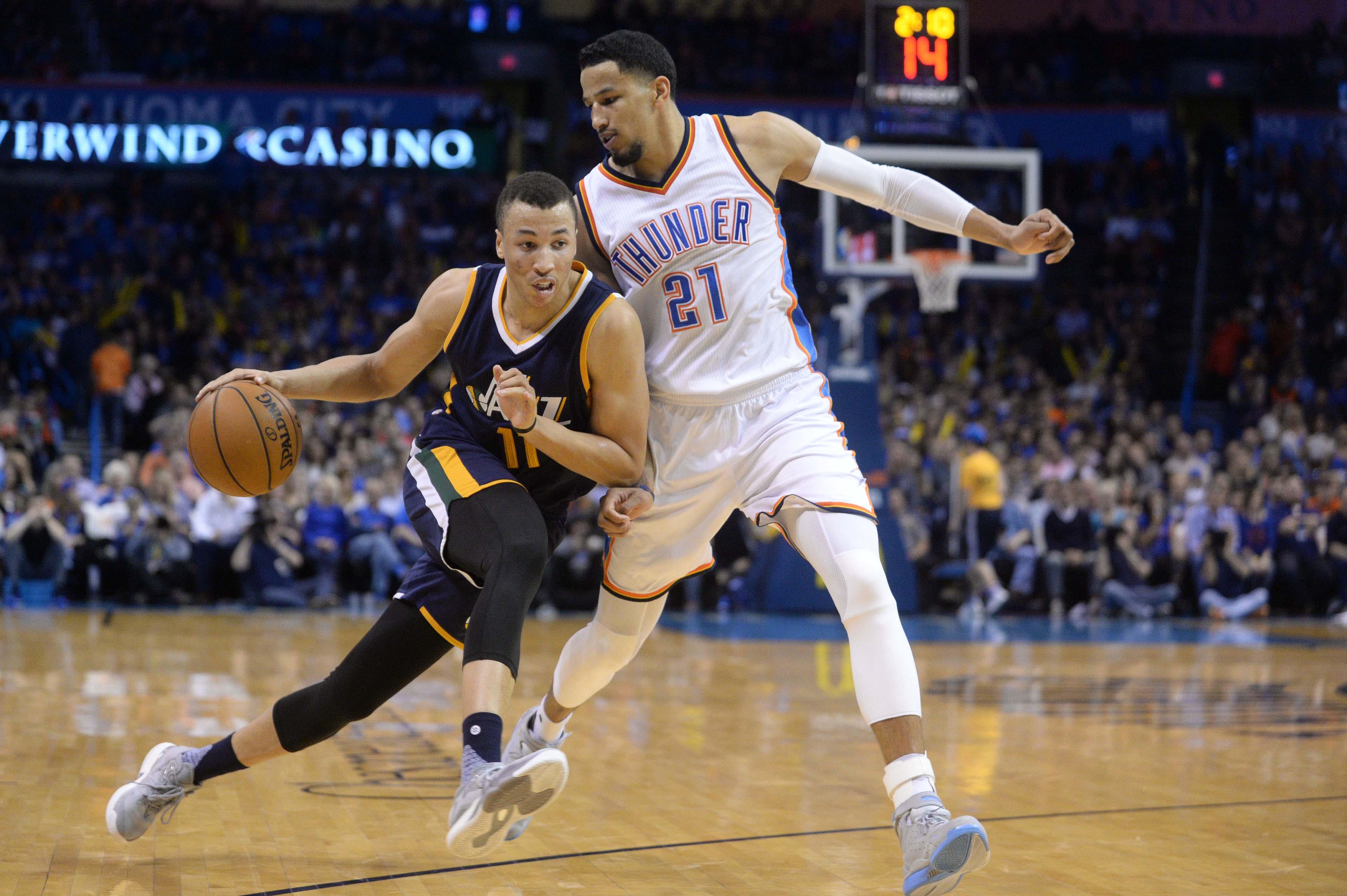 Utah Jazz Reviewing Dante Exum S 2016 17 Season Page 2