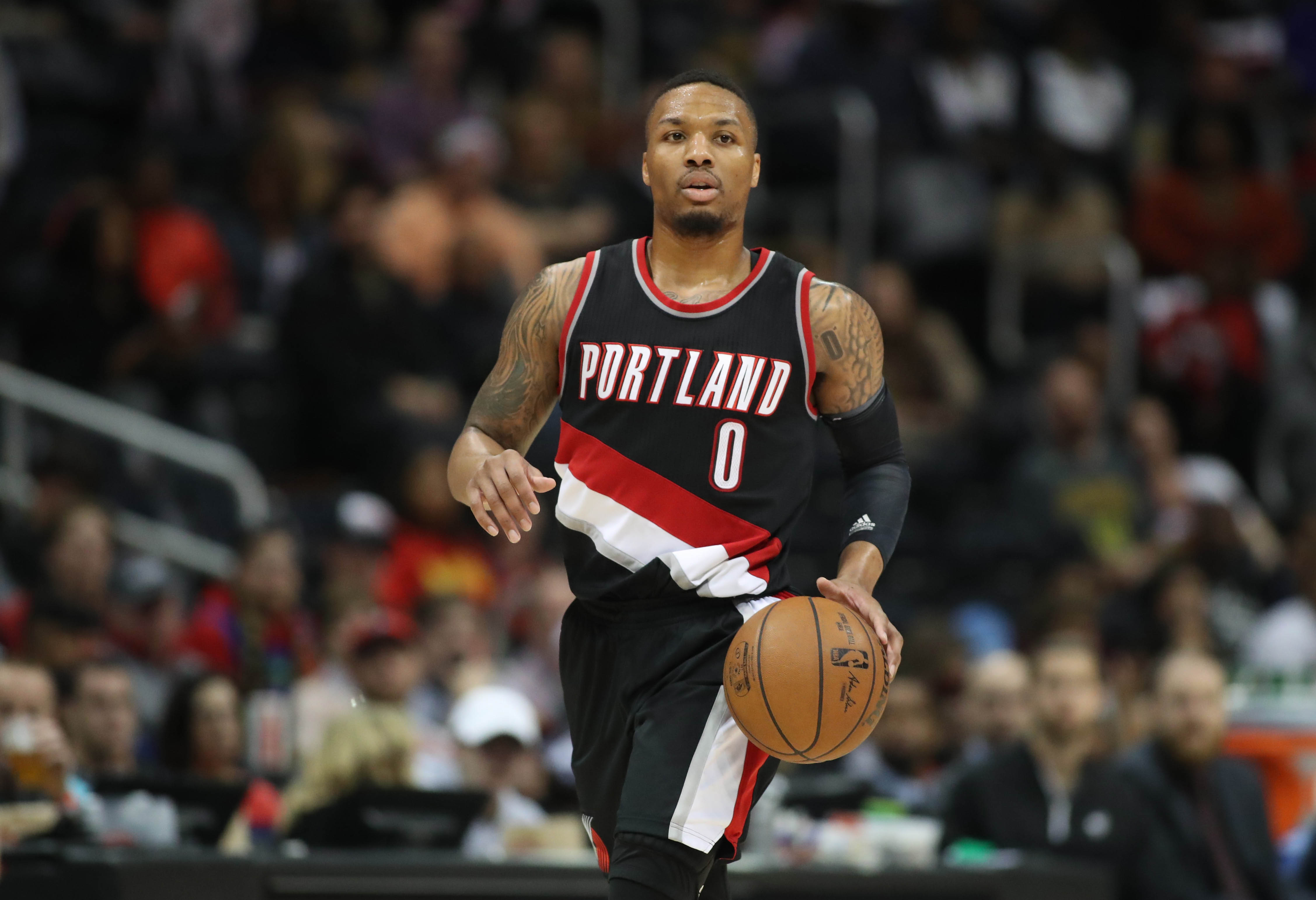 Damian Lillard The Portland Trail Blazers s High Powered Engine